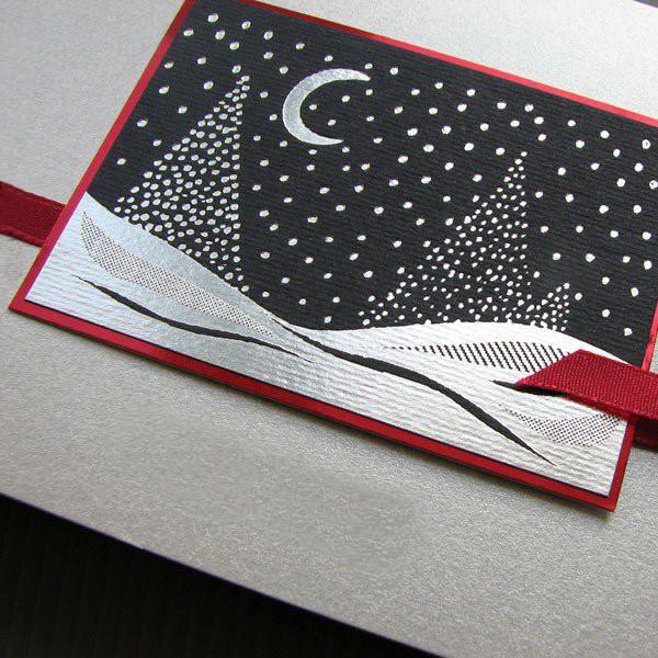 Elegancka firmowa kartka świąteczna na Boże Narodzenie - model K524