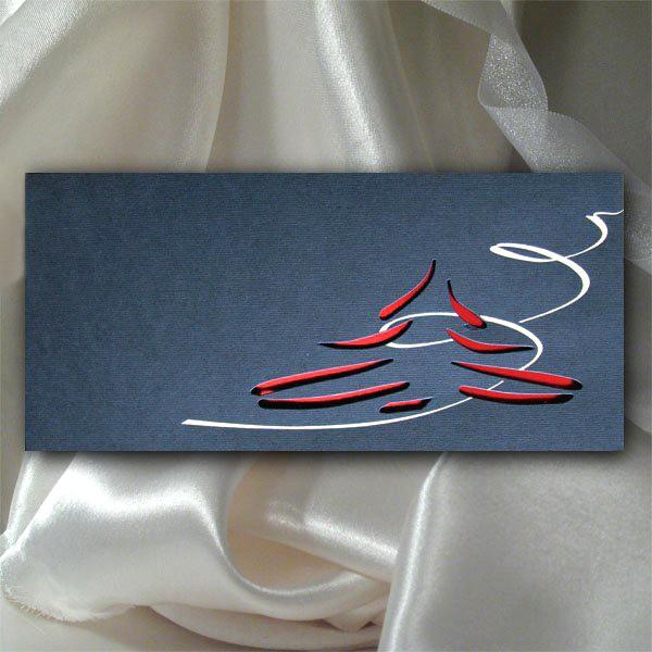 Elegancka firmowa kartka świąteczna na Boże Narodzenie - model K501
