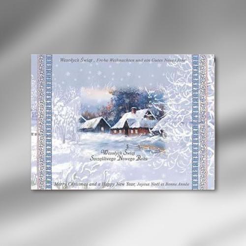 kartka świąteczna E21
