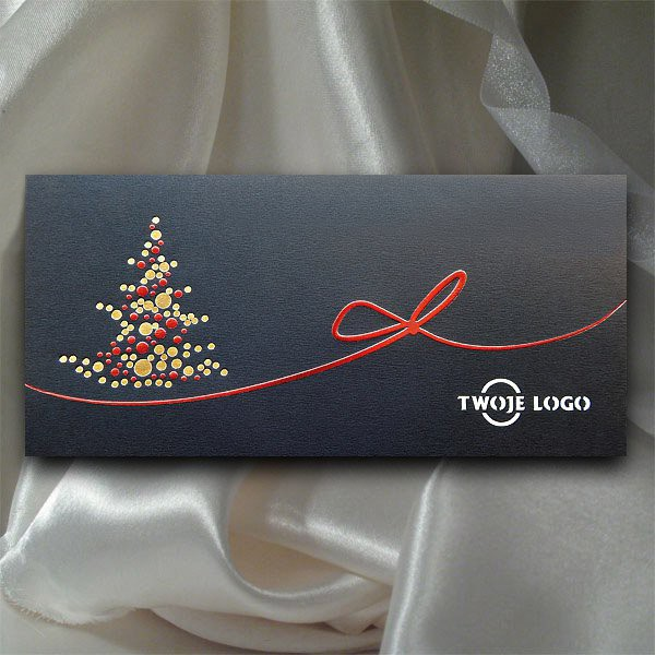 Ogromnie Kartka świąteczna z kopertą | K514 - Firmowe kartki świąteczne z logo DL52